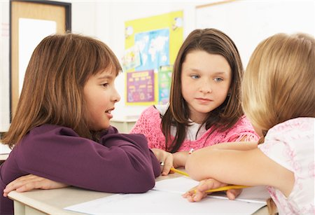 simsearch:600-01184690,k - Students in Classroom Stock Photo - Premium Royalty-Free, Code: 600-01184704