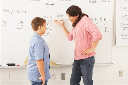simsearch:600-01184690,k - Student and Teacher in Classroom Stock Photo - Premium Royalty-Free, Code: 600-01184709