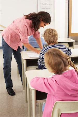 simsearch:600-01184690,k - Students and Teacher in Classroom Stock Photo - Premium Royalty-Free, Code: 600-01184700