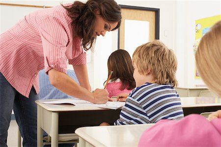 simsearch:600-01184690,k - Students and Teacher in Classroom Stock Photo - Premium Royalty-Free, Code: 600-01184701