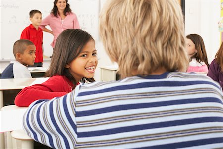 simsearch:600-01184690,k - Students and Teacher in Classroom Stock Photo - Premium Royalty-Free, Code: 600-01184714