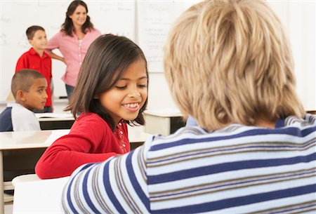 simsearch:600-01184690,k - Students and Teacher in Classroom Stock Photo - Premium Royalty-Free, Code: 600-01184715