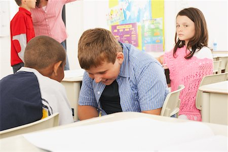 Students and Teacher in Classroom Stock Photo - Premium Royalty-Free, Code: 600-01184716