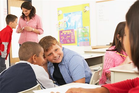 Students and Teacher in Classroom Stock Photo - Premium Royalty-Free, Code: 600-01184717