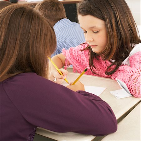 simsearch:600-01184690,k - Students in Classroom Stock Photo - Premium Royalty-Free, Code: 600-01184718