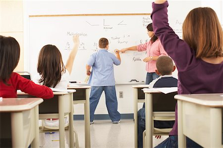 simsearch:600-01184690,k - Students and Teacher in Classroom Stock Photo - Premium Royalty-Free, Code: 600-01184710