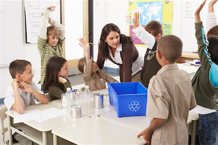 simsearch:600-01184690,k - Students and Teacher in Classroom Stock Photo - Premium Royalty-Free, Code: 600-01184731