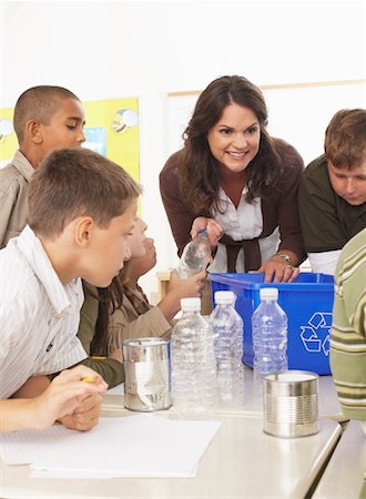 simsearch:600-01184690,k - Students and Teacher in Classroom Stock Photo - Premium Royalty-Free, Code: 600-01184740