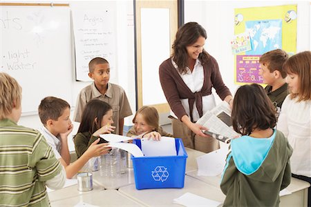 simsearch:600-01184690,k - Students and Teacher in Classroom Stock Photo - Premium Royalty-Free, Code: 600-01184742