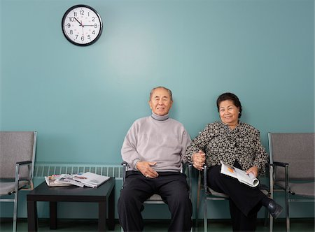 Couple in Waiting Room Stock Photo - Premium Royalty-Free, Code: 600-01236140
