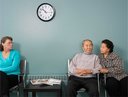 Patients in Waiting Room Stock Photo - Premium Royalty-Free, Code: 600-01236143