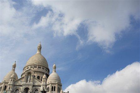 simsearch:600-02428966,k - La Basilique du Sacre Coeur, Paris, France Stock Photo - Premium Royalty-Free, Code: 600-01260232
