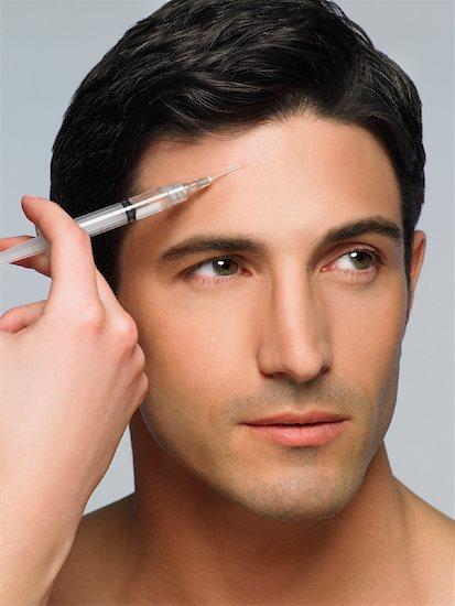 les hommes et les injections de botox