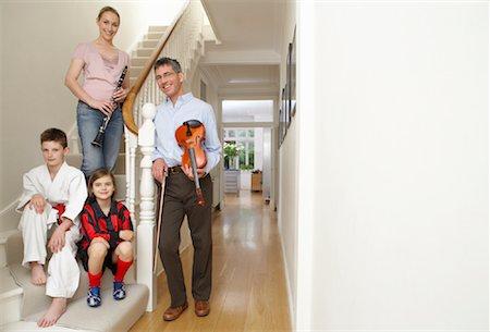 preteen girl feet - Portrait of Active Family Stock Photo - Premium Royalty-Free, Code: 600-01374119