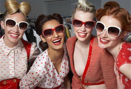 Women Backstage Stock Photo - Premium Royalty-Free, Code: 600-01374604