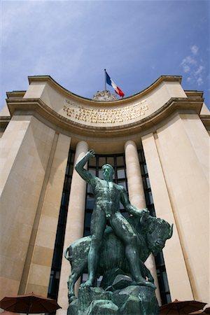 simsearch:600-02428966,k - Trocadero, Paris, France Stock Photo - Premium Royalty-Free, Code: 600-01541011