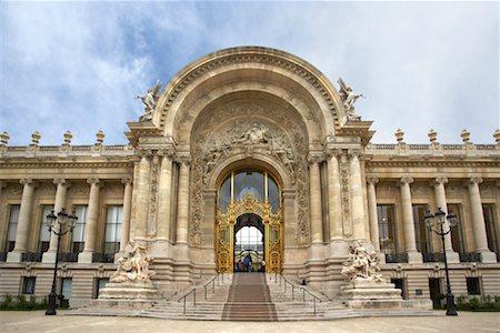 simsearch:600-02428966,k - Entrance to Petit Palais, Paris, France Stock Photo - Premium Royalty-Free, Code: 600-01541026