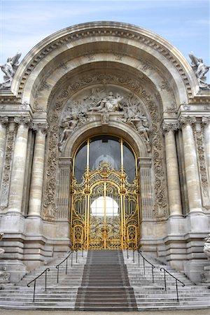 simsearch:600-02428966,k - Entrance to Petit Palais, Paris, France Stock Photo - Premium Royalty-Free, Code: 600-01541027