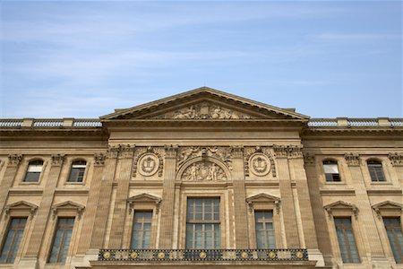 simsearch:600-02428966,k - Pavillon Mollien, Cour Carree, Louvre, Paris, France Stock Photo - Premium Royalty-Free, Code: 600-01541033
