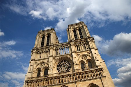 simsearch:600-02428966,k - Notre Dame Cathedral, Paris, France Stock Photo - Premium Royalty-Free, Code: 600-01541044
