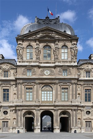 simsearch:600-02428966,k - Louvre, Paris, France Stock Photo - Premium Royalty-Free, Code: 600-01541042
