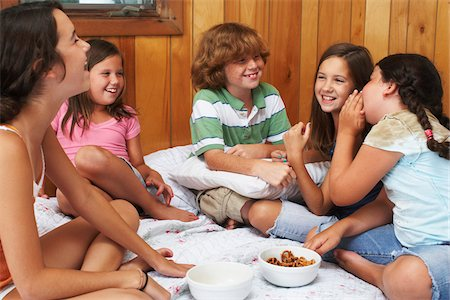 Kids Hanging Out Stock Photo - Premium Royalty-Free, Code: 600-01606776
