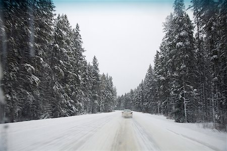 elements (weather) - Highway 1A in Winter, Alberta, Canada Stock Photo - Premium Royalty-Free, Code: 600-01606937