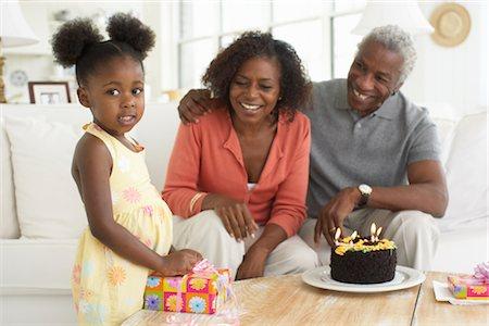 Birthday Party Stock Photo - Premium Royalty-Free, Code: 600-01614054