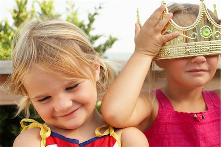 Portrait of Girls Stock Photo - Premium Royalty-Free, Code: 600-01614143