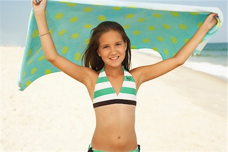 Girl on Beach Stock Photo - Premium Royalty-Free, Code: 600-01614195