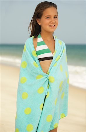 Girl on Beach Stock Photo - Premium Royalty-Free, Code: 600-01614192