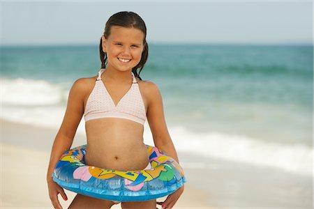 Girl on Beach Stock Photo - Premium Royalty-Free, Code: 600-01614207