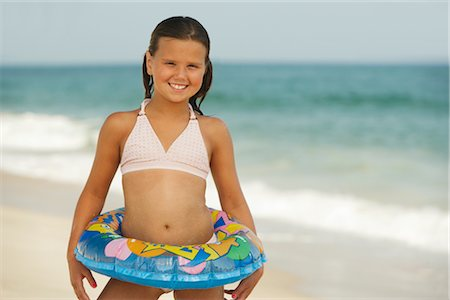 Girl on Beach Stock Photo - Premium Royalty-Free, Code: 600-01614207