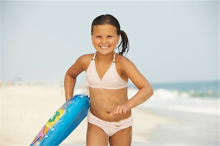Girl on Beach Stock Photo - Premium Royalty-Free, Code: 600-01614209