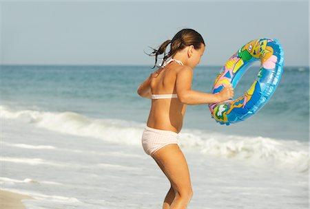 Girl on Beach Stock Photo - Premium Royalty-Free, Code: 600-01614211