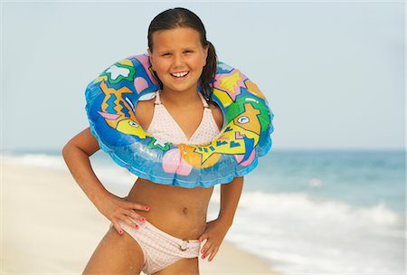 Girl on Beach Stock Photo - Premium Royalty-Free, Code: 600-01614212