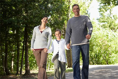 Family Outdoors Stock Photo - Premium Royalty-Free, Code: 600-01614778