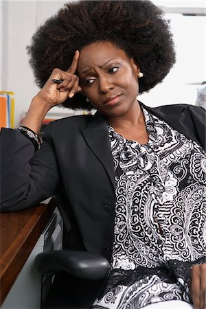 Portrait of businesswoman Stock Photo - Premium Royalty-Free, Code: 600-01614922
