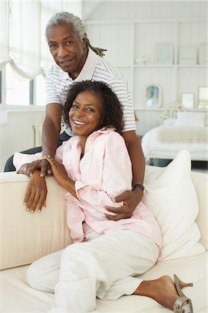 Portrait of couple Stock Photo - Premium Royalty-Free, Code: 600-01615047