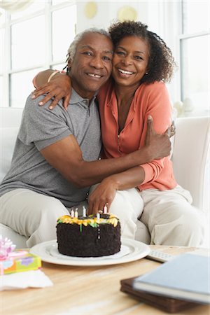 Couple embracing Stock Photo - Premium Royalty-Free, Code: 600-01615058