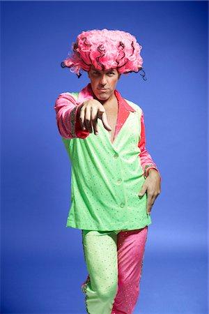 Portrait of Man in Costume Stock Photo - Premium Royalty-Free, Code: 600-01613474