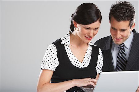 Business People Working Together Stock Photo - Premium Royalty-Free, Code: 600-01613640
