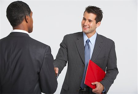 Businessmen Shaking Hands Stock Photo - Premium Royalty-Free, Code: 600-01613717