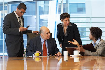 Business Meeting Stock Photo - Premium Royalty-Free, Code: 600-01613768