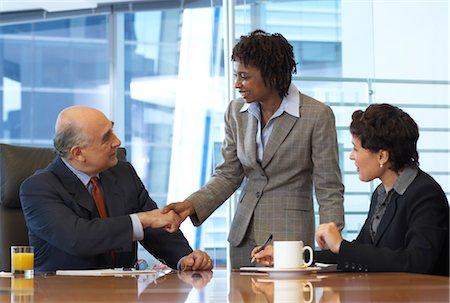 Business Meeting Stock Photo - Premium Royalty-Free, Code: 600-01613761