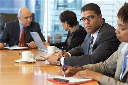 supervising - Portrait of Business People Stock Photo - Premium Royalty-Free, Code: 600-01613781