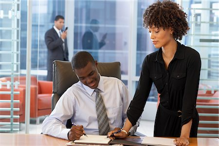 Business People in Meeting Stock Photo - Premium Royalty-Free, Code: 600-01613795