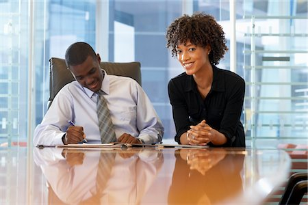Business People in Meeting Stock Photo - Premium Royalty-Free, Code: 600-01613797