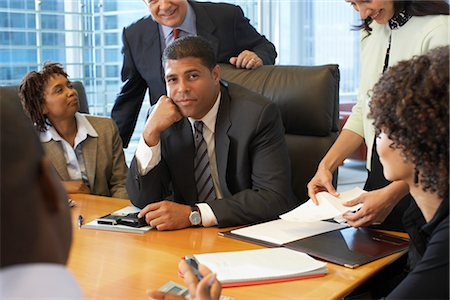 Business People in Meeting Stock Photo - Premium Royalty-Free, Code: 600-01613813
