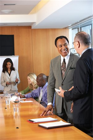 Business People in Meeting Stock Photo - Premium Royalty-Free, Code: 600-01613847